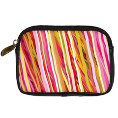 Color Ribbons Background Wallpaper Digital Camera Cases