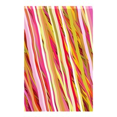 Color Ribbons Background Wallpaper Shower Curtain 48  x 72  (Small)