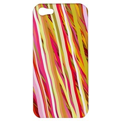 Color Ribbons Background Wallpaper Apple iPhone 5 Hardshell Case
