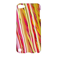 Color Ribbons Background Wallpaper Apple iPod Touch 5 Hardshell Case