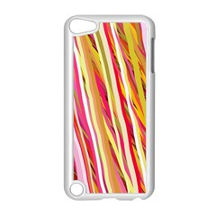 Color Ribbons Background Wallpaper Apple Ipod Touch 5 Case (white)