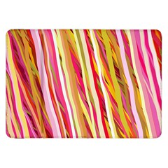 Color Ribbons Background Wallpaper Samsung Galaxy Tab 8 9  P7300 Flip Case