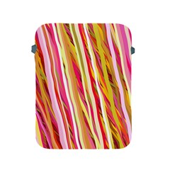 Color Ribbons Background Wallpaper Apple Ipad 2/3/4 Protective Soft Cases