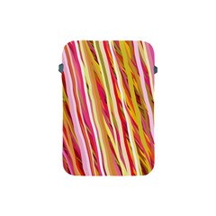 Color Ribbons Background Wallpaper Apple Ipad Mini Protective Soft Cases