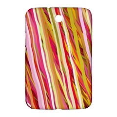 Color Ribbons Background Wallpaper Samsung Galaxy Note 8 0 N5100 Hardshell Case