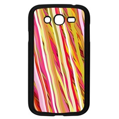 Color Ribbons Background Wallpaper Samsung Galaxy Grand Duos I9082 Case (black)