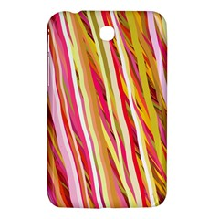 Color Ribbons Background Wallpaper Samsung Galaxy Tab 3 (7 ) P3200 Hardshell Case