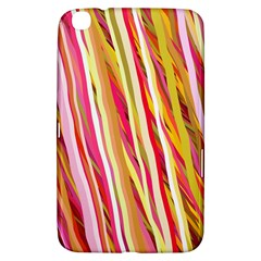 Color Ribbons Background Wallpaper Samsung Galaxy Tab 3 (8 ) T3100 Hardshell Case