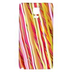Color Ribbons Background Wallpaper Galaxy Note 4 Back Case