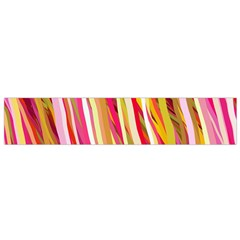 Color Ribbons Background Wallpaper Flano Scarf (small)
