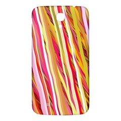 Color Ribbons Background Wallpaper Samsung Galaxy Mega I9200 Hardshell Back Case