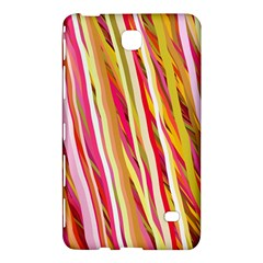 Color Ribbons Background Wallpaper Samsung Galaxy Tab 4 (8 ) Hardshell Case
