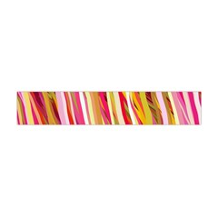 Color Ribbons Background Wallpaper Flano Scarf (Mini)