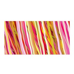 Color Ribbons Background Wallpaper Satin Wrap