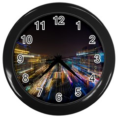 Frozen In Time Wall Clocks (Black)