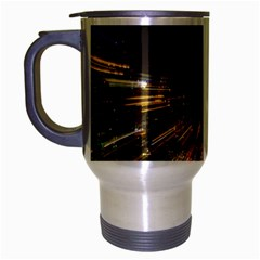 Frozen In Time Travel Mug (Silver Gray)