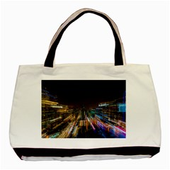 Frozen In Time Basic Tote Bag (two Sides)