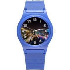 Frozen In Time Round Plastic Sport Watch (s)