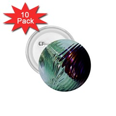 Out Of Time Glass Pearl Flowag 1 75  Buttons (10 Pack)
