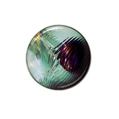 Out Of Time Glass Pearl Flowag Hat Clip Ball Marker