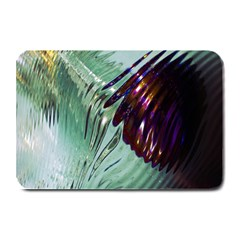 Out Of Time Glass Pearl Flowag Plate Mats