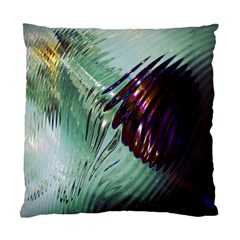 Out Of Time Glass Pearl Flowag Standard Cushion Case (two Sides)