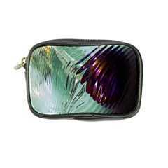 Out Of Time Glass Pearl Flowag Coin Purse