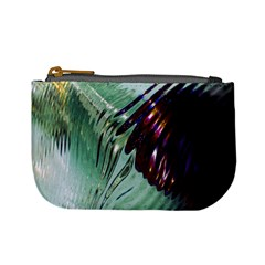 Out Of Time Glass Pearl Flowag Mini Coin Purses