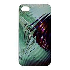Out Of Time Glass Pearl Flowag Apple Iphone 4/4s Premium Hardshell Case