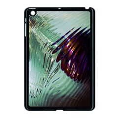 Out Of Time Glass Pearl Flowag Apple Ipad Mini Case (black)
