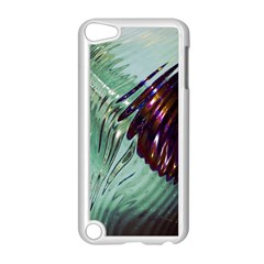 Out Of Time Glass Pearl Flowag Apple Ipod Touch 5 Case (white)