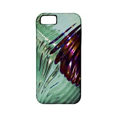 Out Of Time Glass Pearl Flowag Apple iPhone 5 Classic Hardshell Case (PC+Silicone)