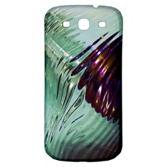 Out Of Time Glass Pearl Flowag Samsung Galaxy S3 S Iii Classic Hardshell Back Case