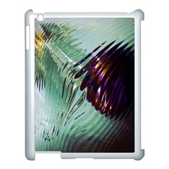Out Of Time Glass Pearl Flowag Apple Ipad 3/4 Case (white)
