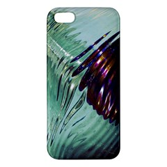 Out Of Time Glass Pearl Flowag Apple iPhone 5 Premium Hardshell Case
