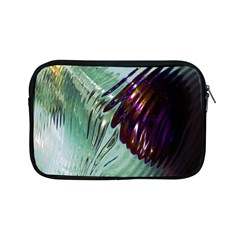 Out Of Time Glass Pearl Flowag Apple Ipad Mini Zipper Cases