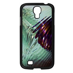 Out Of Time Glass Pearl Flowag Samsung Galaxy S4 I9500/ I9505 Case (black)