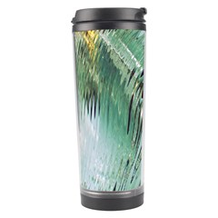 Out Of Time Glass Pearl Flowag Travel Tumbler