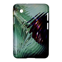 Out Of Time Glass Pearl Flowag Samsung Galaxy Tab 2 (7 ) P3100 Hardshell Case