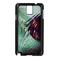 Out Of Time Glass Pearl Flowag Samsung Galaxy Note 3 N9005 Case (black)
