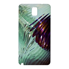 Out Of Time Glass Pearl Flowag Samsung Galaxy Note 3 N9005 Hardshell Back Case