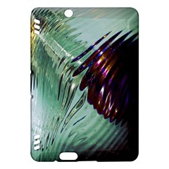 Out Of Time Glass Pearl Flowag Kindle Fire Hdx Hardshell Case