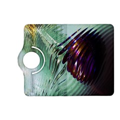 Out Of Time Glass Pearl Flowag Kindle Fire Hd (2013) Flip 360 Case