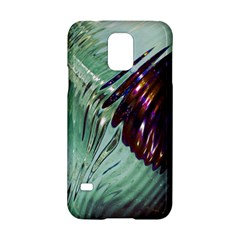 Out Of Time Glass Pearl Flowag Samsung Galaxy S5 Hardshell Case