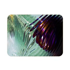 Out Of Time Glass Pearl Flowag Double Sided Flano Blanket (mini)
