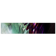 Out Of Time Glass Pearl Flowag Flano Scarf (Small)
