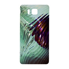 Out Of Time Glass Pearl Flowag Samsung Galaxy Alpha Hardshell Back Case