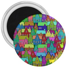 Neighborhood In Color 3  Magnets