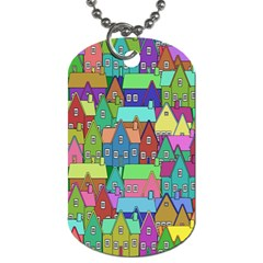 Neighborhood In Color Dog Tag (Two Sides)