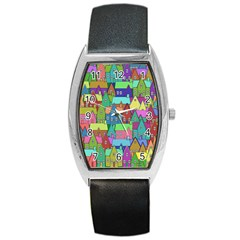 Neighborhood In Color Barrel Style Metal Watch
